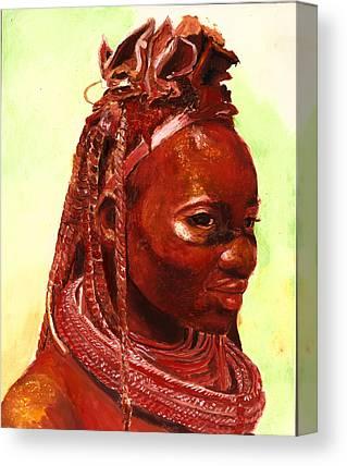Tribal Paintings Canvas Prints