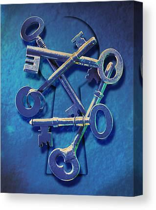 Keys Canvas Prints