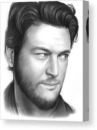 Blake Drawings Canvas Prints
