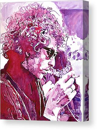 Bob Dylan Paintings Canvas Prints