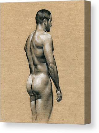 Naked Drawings Canvas Prints