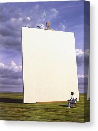 Blank Canvas Prints