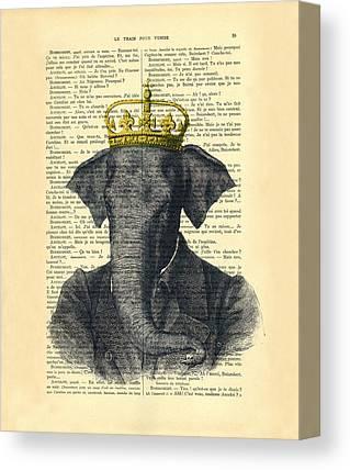 Animal Kingdom Canvas Prints