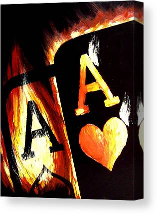 Poker Canvas Prints
