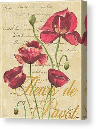 Blossoms Mixed Media Canvas Prints