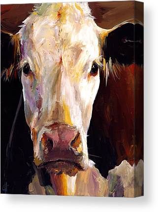 Hereford Canvas Prints