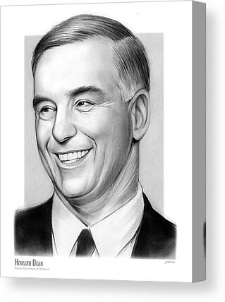Howard Dean Canvas Prints