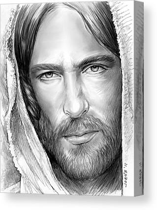 Son Of God Drawings Canvas Prints
