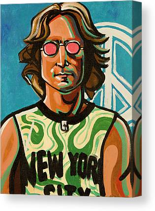 John Lennon Art Canvas Prints