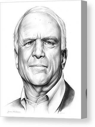 John Mccain Canvas Prints