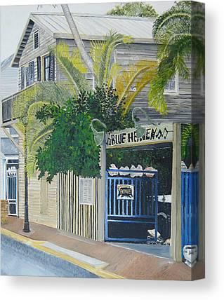 Key West Canvas Prints