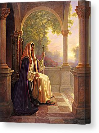 Celestial Paintings Canvas Prints