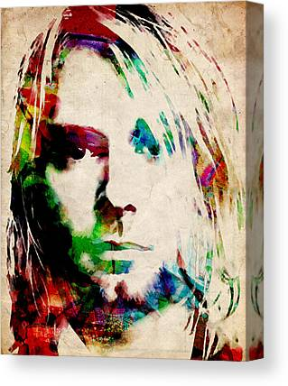 Nirvana Canvas Prints