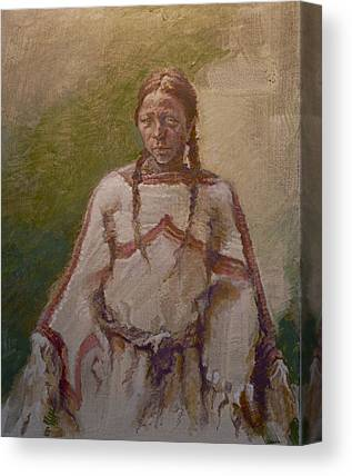 One Wnative American Canvas Prints