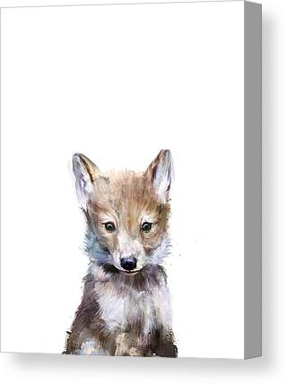 Wolf Canvas Prints