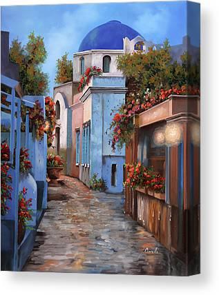 Hellas Canvas Prints