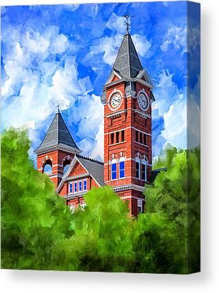 The University Of Alabama Canvas Prints