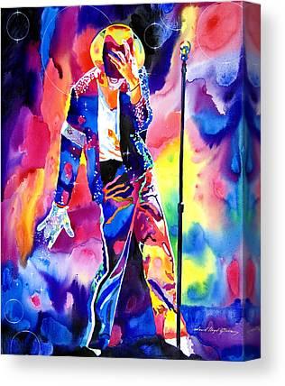 Entertainer Paintings Canvas Prints