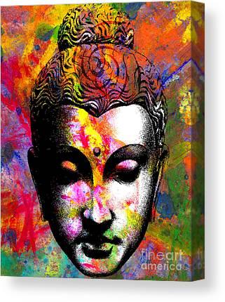 Buddah Canvas Prints