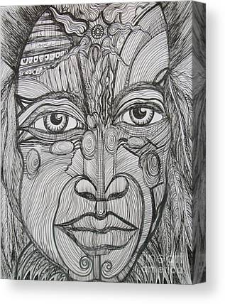 Sarasota ist Drawings Canvas Prints