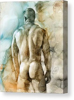 Male Figure Canvas Prints