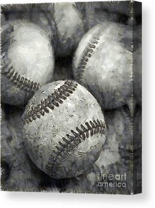 Baseball Season Canvas Prints
