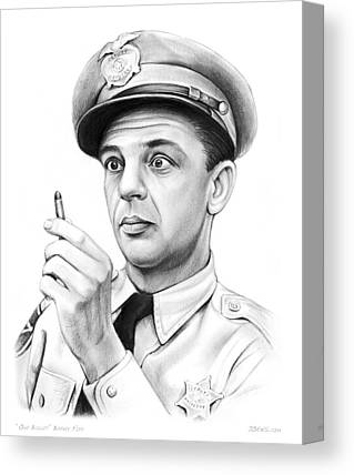 Andy Griffith Canvas Prints