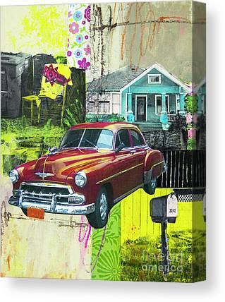 Mail Box Mixed Media Canvas Prints