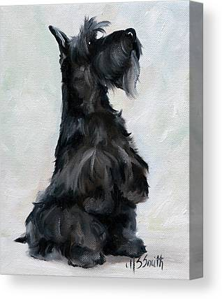 Scottish Dog Canvas Prints