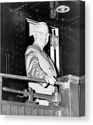 Harry Truman Canvas Prints