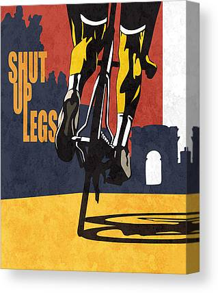 Tour De France Canvas Prints