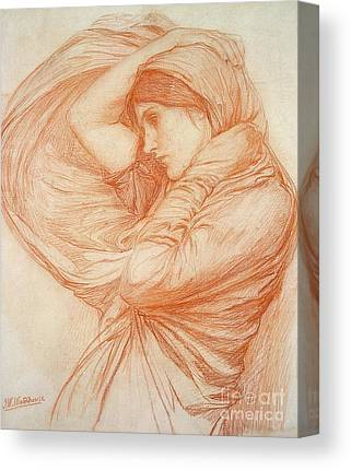 Waterhouse Drawings Canvas Prints