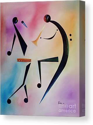 Tambourines Canvas Prints