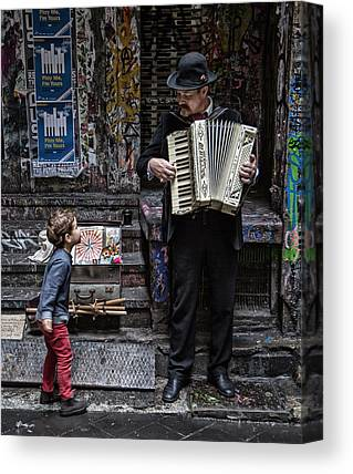 Accordion Canvas Prints