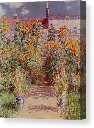 Vetheuil Canvas Prints