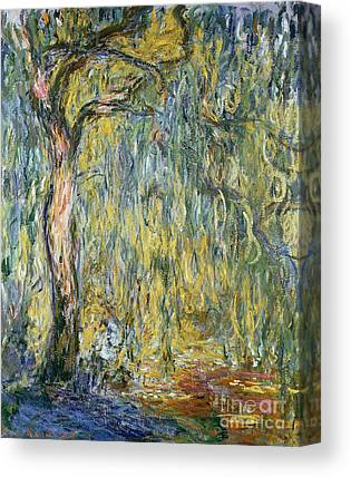 Willow Tree Paintings Canvas Prints