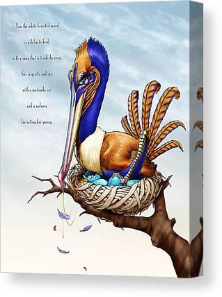 Shel Silverstein Canvas Prints