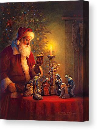Nativity Canvas Prints
