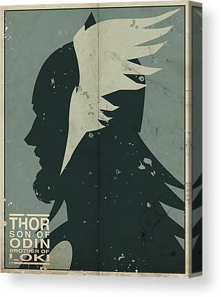 Thor Canvas Prints
