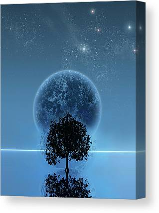 Science Fiction Digital Art Canvas Prints
