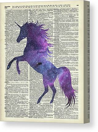Macrocosm Digital Art Canvas Prints