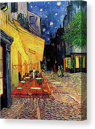 Place Du Forum Paintings Canvas Prints