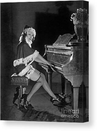 Lady Playing Piano Photographs Canvas Prints