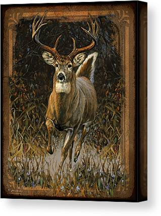 Whitetails Canvas Prints