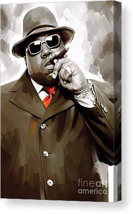 Notorious Big Canvas Prints