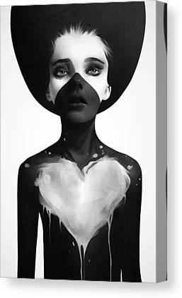 Black Canvas Prints