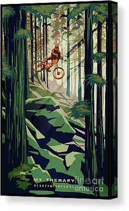 British Columbia Canvas Prints