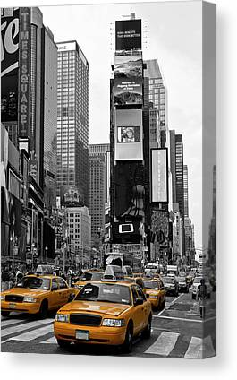 City Car Canvas Prints