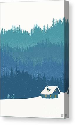 Woods Canvas Prints