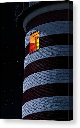 West Quoddy Head Lighthouse Canvas Prints